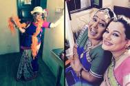 New mommy Kanika back on the sets of Diya Aur Baati Hum