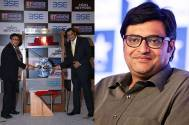 Arnab Goswami becomes the first journalist to ring the opening bell at the BSE in its 140-year history