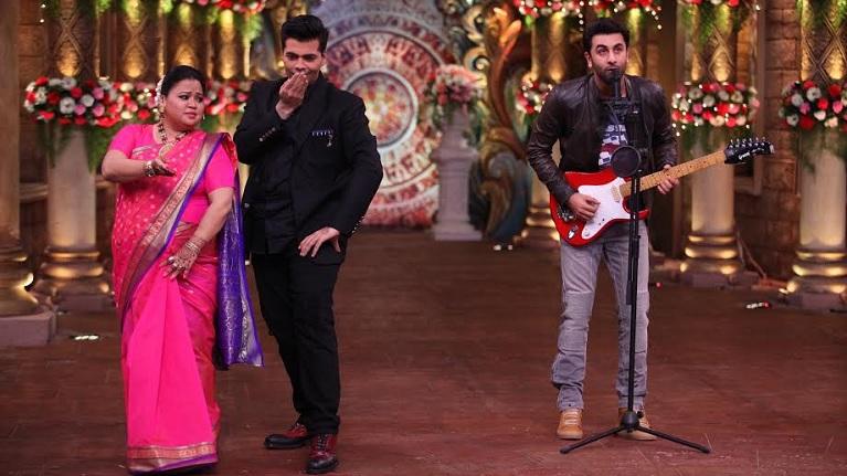 Ranbir Kapoor and Karan Johar go all retro on Comedy Nights Bachao Taaza!