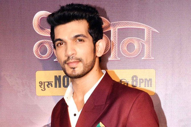Arjun Bijlani is back in 'Naagin 2'