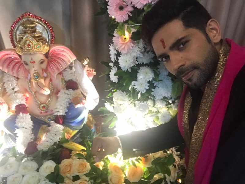 Being ABROAD has not deterred this TV actor to celebrate Ganesh Chaturthi!