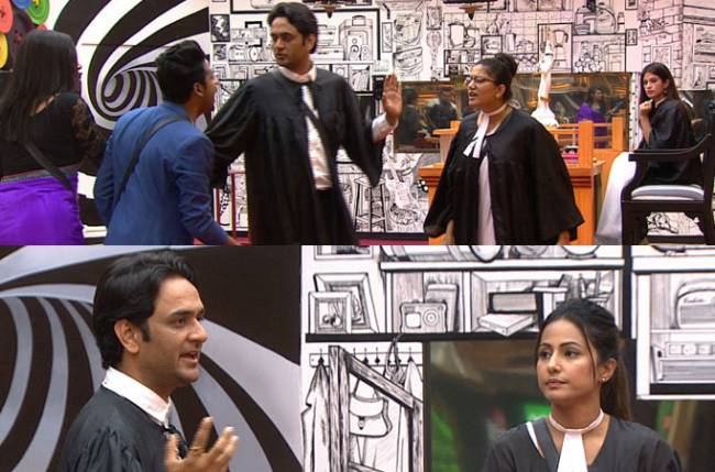 Hina accused of MALIGNING another woman by Vikas; breaks down!