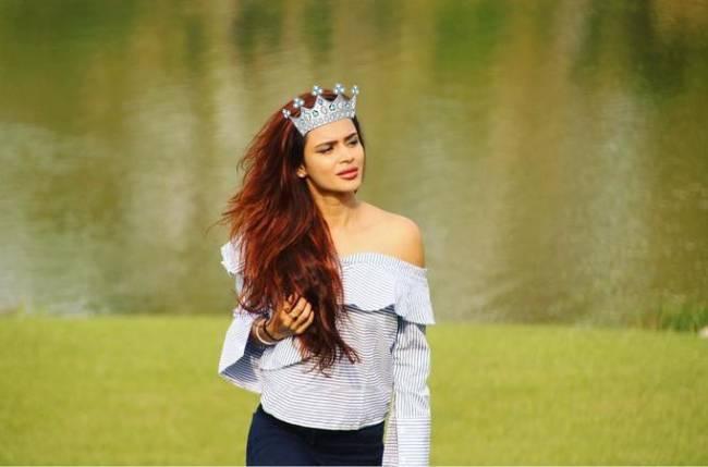 Congrats: Aashka Garodia is the Insta Queen of the week!