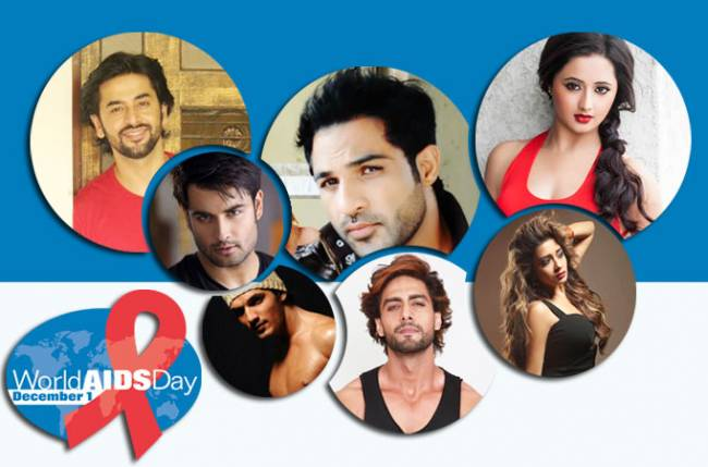 TV celebs on spreading AIDS awareness