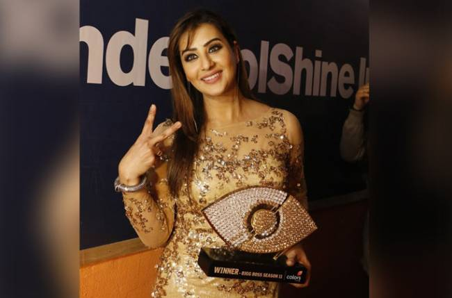 Shilpa Shinde wins Colors' Bigg Boss 11