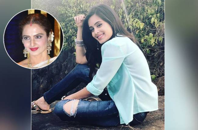 Rhea Sharma looks up to Rekha