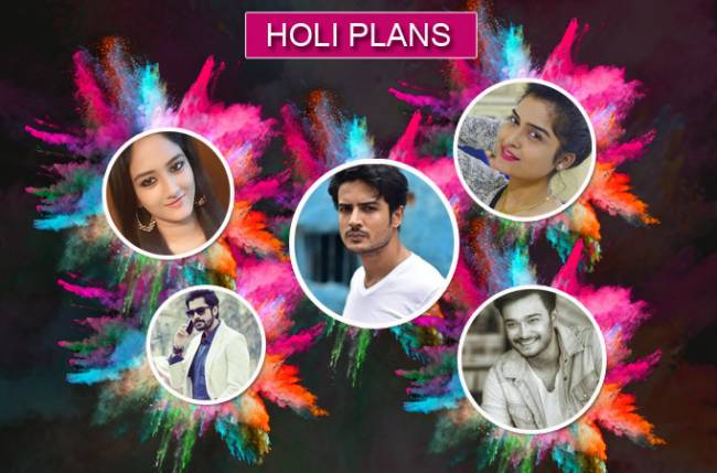 Bengali TV show actors and their Holi plans