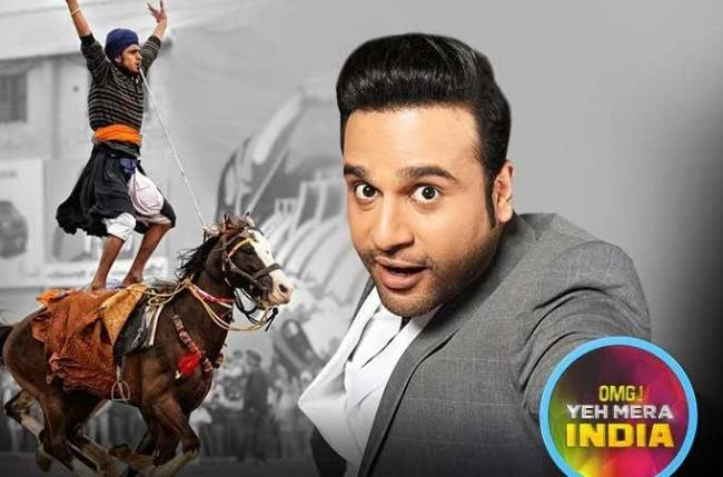 Krushna Abhishek back with new season of 'OMG! Yeh Mera India'