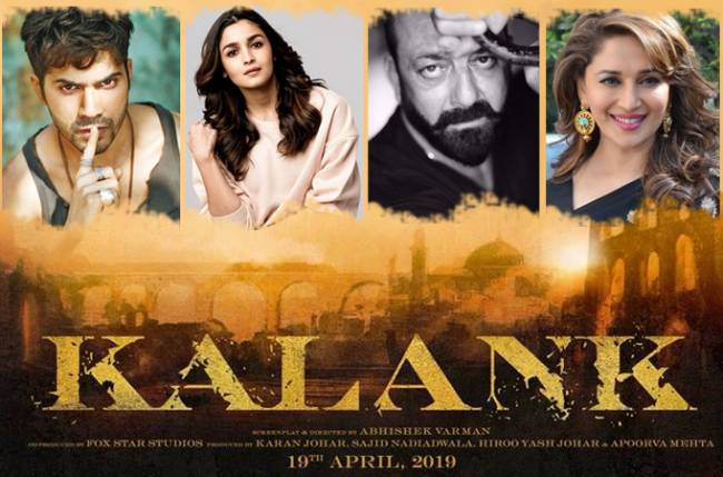 Varun-Alia, Madhuri-Sanjay to share screen space in Karan Johar's Kalank