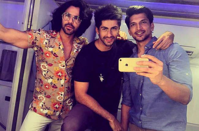 Namit, Aakash and Ankit's bromance on the sets of Yeh Pyaar Nahi Toh Kya Hai