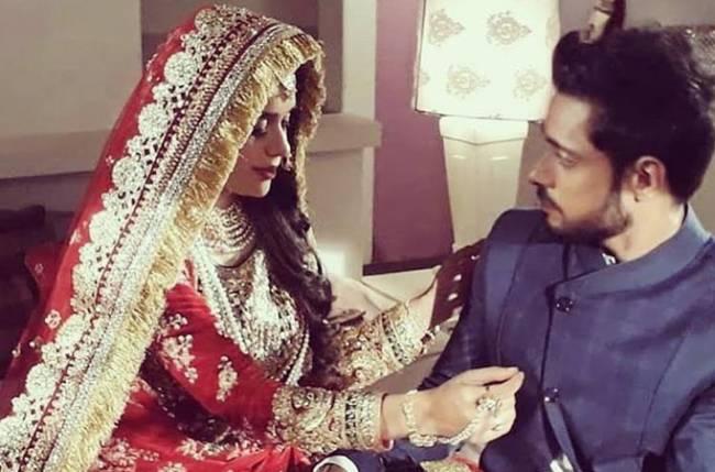 Zara dresses up like a bride to woo Kabir in Ishq Subhan Allah