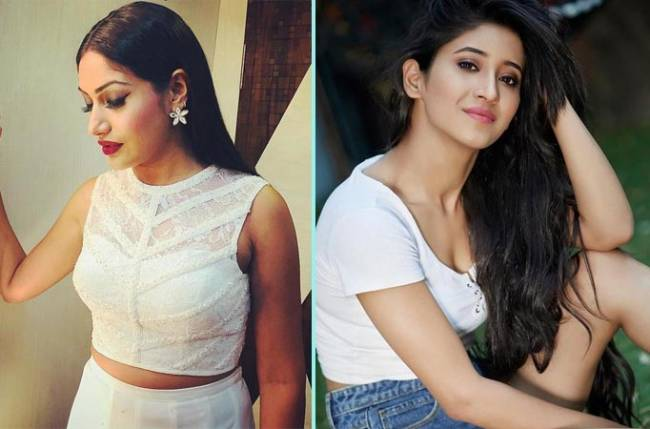 Surbhi Chandna and Shivangi Joshi turn make-up artiste for each other