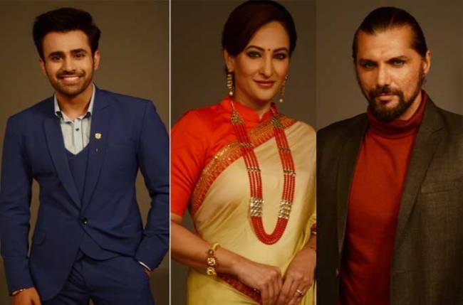 Revealed: Looks of Pearl V Puri, Rakshanda Khan and Chetan Hansraj in Colors' Naagin 3