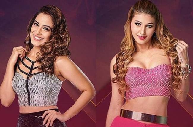 Srishty Rode turns hairstylist for Jasleen and the Khan Sisters in Bigg Boss 12