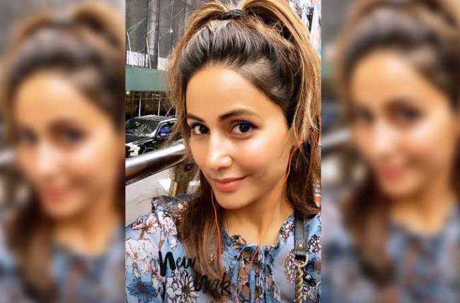 Hina Khan's fun time in New York, check out picture