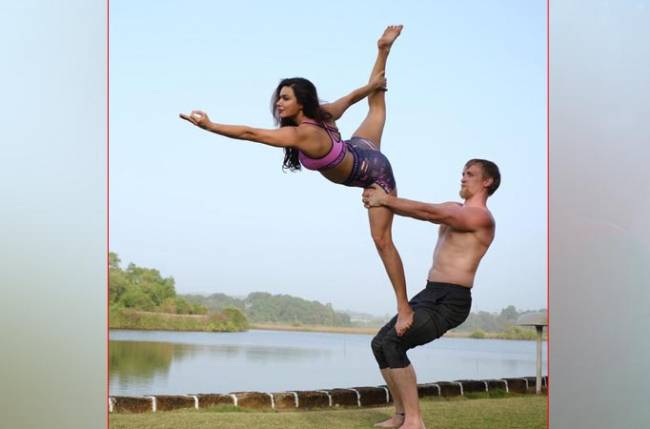 Aashka Goradia And Husband Brent Goble Restore 150 Year Old Portuguese Home To Start A Yoga Shala