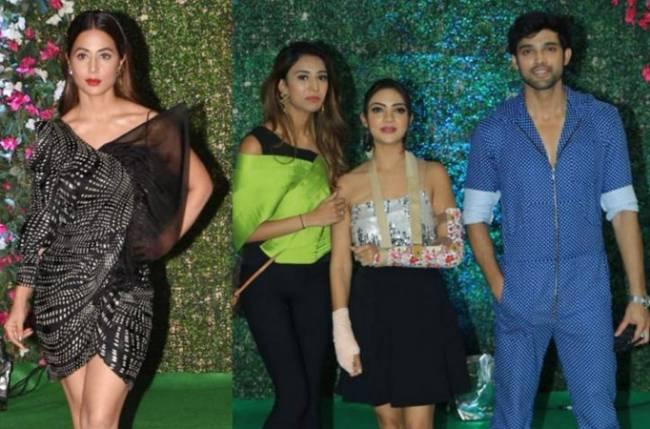 Hina Khan, Erica Fernandes, Parth Samthaan, and others grace Ekta Kapoor's success bash; check photos