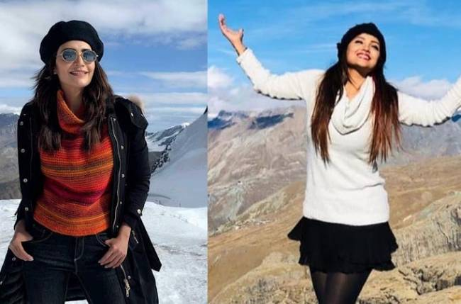 Karishma Tanna & Adaa Khan's last leg of their Switzerland trip