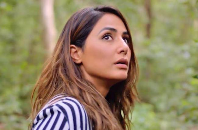 TV Bahu Hina Khan learns to smoke for her role in web series – 'Damaged 2'